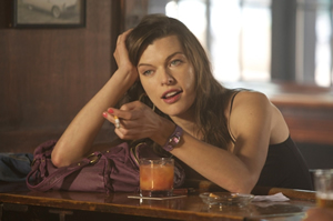 Milla Jovovich is a stone-cold temptress in Stone