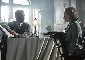 Tom Hanks is Ben Bradlee and Meryl Streep is Kay Graham