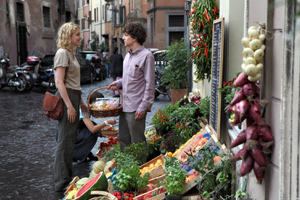 Eisenberg lives in the Trastevere neighborhood