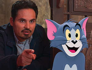 Michael Pena with Tom