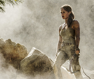 Alicia Vikander is Lara Croft