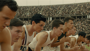 Zamperini also ran in the Olympics