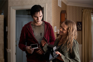 Hoult and Palmer turn the movie into a pleasing fable about love