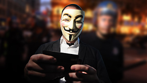 Anonymous hackers make headlines