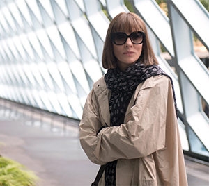 Bernadette (Cate Blanchett) on the lam