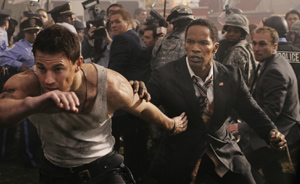 Tatum and Foxx bring the White House Down