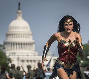 Wonder Woman runs from politics