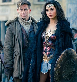 Steve Trevor and Princess Diana (aka Diana Prince) visit the front lines of WWI