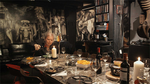 Giger lived up to his fans' expectations