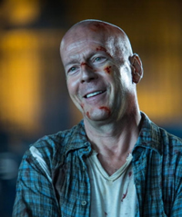 John McClane (Bruce Willis) is back!