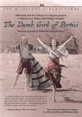 Pavlova's only movie, and directed by Lois Weber to boot