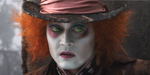 Depp's hatter is mad about Alice in Wonderland