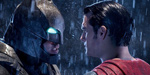 Batman faces down super friend Superman
