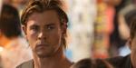 Hemsworth wears a blackhat