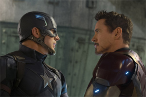 Captain America meets Winter Soldier