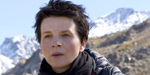Binoche shades under the Clouds of Sils Maria