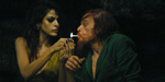 Mendes and Lavant ride in Holy Motors
